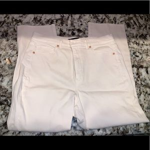 New without tags cream express jeans